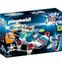 Playmobil® 9002 - Super 4 - FulguriX mit Agent Gene