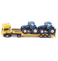 SIKU Farmer - LKW mit Traktoren