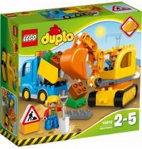 LEGO® DUPLO® - 10812 Bagger & Lastwagen