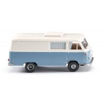 Wiking - Borgward Campingwagen B611 - pastellblau/perlweiß