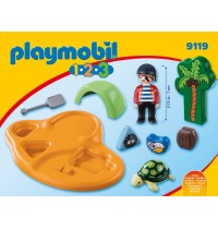 Playmobil® 9119 - 1.2.3. - Pirateninsel