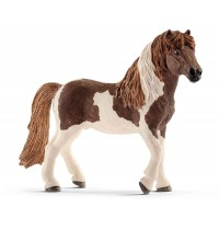 Schleich - World of Nature - Farm Life - Pferde - Island Pony Hengst