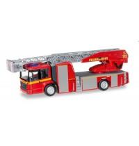 Herpa - Mercedes-Benz Econic Metz Drehleiter L32 XS Feuerwehr