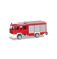 Herpa - MAN M 2000 Löschfahrzeug HLF 20 Feuerwehr, unbedruckt