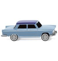 Wiking - Fiat 1800, pastellblau mit nachtblauem Dach