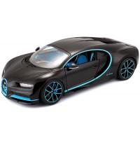 1:18 Bugatti Chiron 42seconds Zero-400-Zero Schwarz