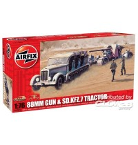 Airfix - 88mm GUN AND TRACTOR