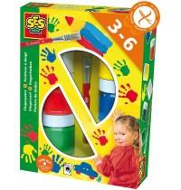 SES Creative - Fingerfarbe 6 Farben je 50ml