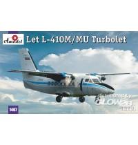 1/144 Let L-410M/MU Turbolet Amodel