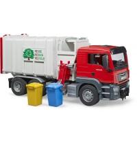 BRUDER - MAN TGS Seitenlader Müll-LKW
