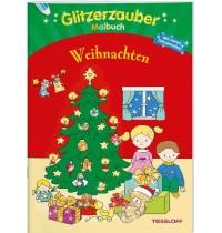 Tessloff - Glitzerzauber Malbuch - Weihnachten