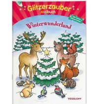 Tessloff - Glitzerzauber Malbuch - Winterwunderland