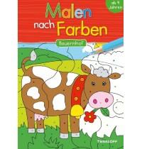Tessloff - Malen nach Farben - Bauernhof