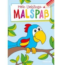 Tessloff - Mein Lieblings-Malspaß, Papagei