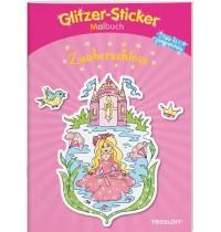 Tessloff - Glitzer-Sticker-Malbuch - Zauberschloss