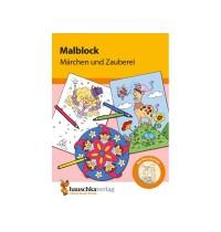 Malblock - Märchen und Zauber