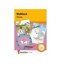Malblock - Pferde