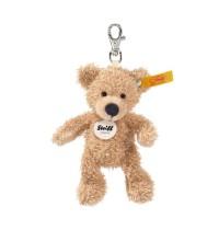 Steiff - Teddybären - Teddybären für Kinder - Schlüsselanhänger Fynn Teddybär, beige, 12cm