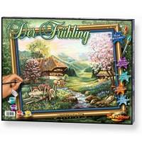 Schipper Arts & Crafts - Meisterklasse Premium - Landschaftsmotive - Der Frühling