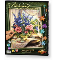 Schipper Arts & Crafts - Meisterklasse Premium - Blumen am Fenster