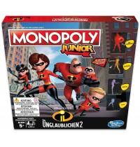 Hasbro - Monopoly Junior Die Unglaublichen