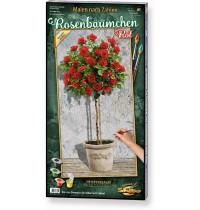 Schipper Arts & Crafts - Rosenbäumchen Rot