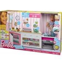 Mattel - Barbie - Cooking und Baking Deluxe Küche Spielset und Puppe
