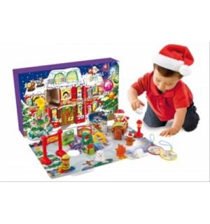 Kleiner Weihnachtskalender.Kleine Entdeckerbande Adven