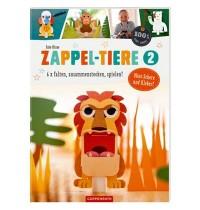 Coppenrath Verlag - 100&percnt -  selbst gemacht - Zappel-Tiere 2 -  6 x falten
