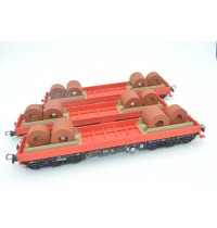 1/87 H0 DB Cargo Epoche V, Wagenset Schwerlastwagen, Hersteller NPE