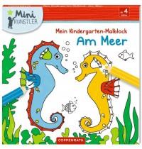 Coppenrath Verlag - Mini-Künstler - Mein Kindergarten-Malblock - Am Meer
