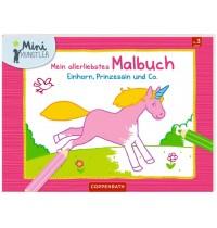 Coppenrath Verlag - Einhorn, Prinzessin und Co - Mein allerliebstes Malbuch