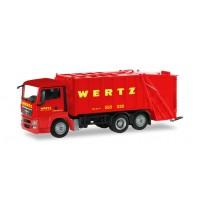 MAN TGS Pressmüllwagen, Wertz