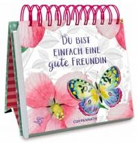 Coppenrath Verlag - Kleines Spiralaufstellbuch - Du bist einfach eine gute Freundin (Behr)