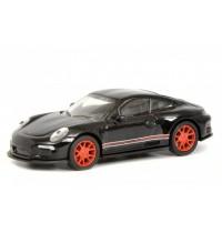 Schuco - Porsche 911 R 991 schwarz/rot 1:87