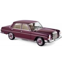 1:18 Mercedes-Benz 280 SE 1968 Dark Red