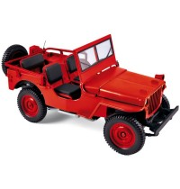 1:18 Jeep 1942 Red