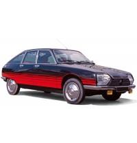 1:18 Citroën GS Basalte 1978 Black & Red deco