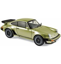 1:18 Porsche 911 Turbo 1978 Silvergreen metallic