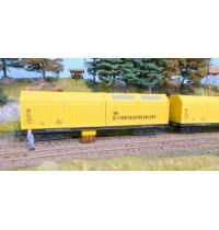 H0~ Gleisstaubsaugerwagen AC mit Faulhaber-Motor und Steuerelektronik SSF-09 (analog + digital) Hersteller: Lux-modellbau