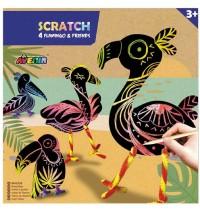 Avenir - Scratch Flamingo & Friends