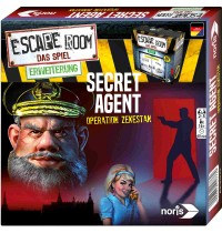 Noris Spiele - Escape Room Secret Agent