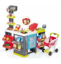 Smoby - Maxi-Supermarkt mit Einkaufswagen