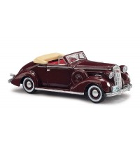 Busch Modellbahnzubehör - OX: Buick Special 1936, Cabrio Bordeaux