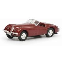 Schuco - Edition 1:87 - Jaguar XK 120, rot, 1:87