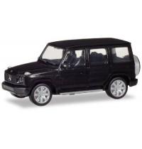 Herpa - Mercedes-Benz G-Modell, obsidianschwarz metallic