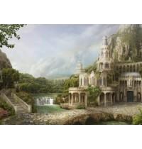 Schmidt Spiele Puzzle Insel der Wasserfälle, 1000 Teile