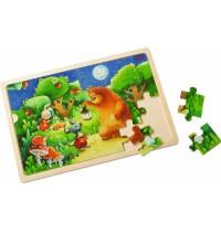 HABA® - Holzpuzzle Nachtwächterbär
