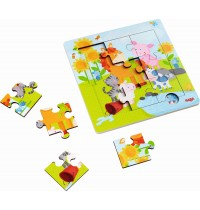 HABA® - Holzrahmen-Puzzle Tierfreunde