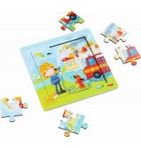 HABA® - Holzrahmen-Puzzle Feuerwehr